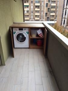 7 bis- Mobile con lavatrice