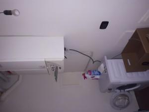 6- Ripostiglio con lavatrice